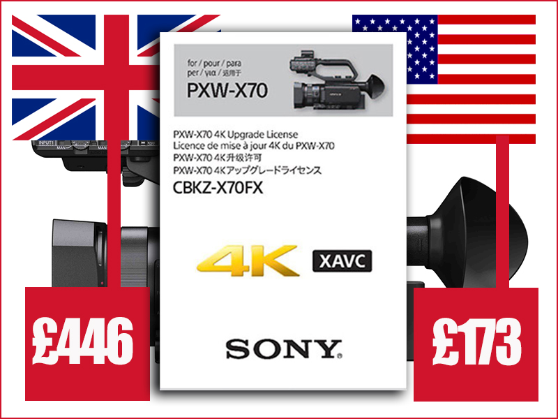 Sony X70 UK v USA
