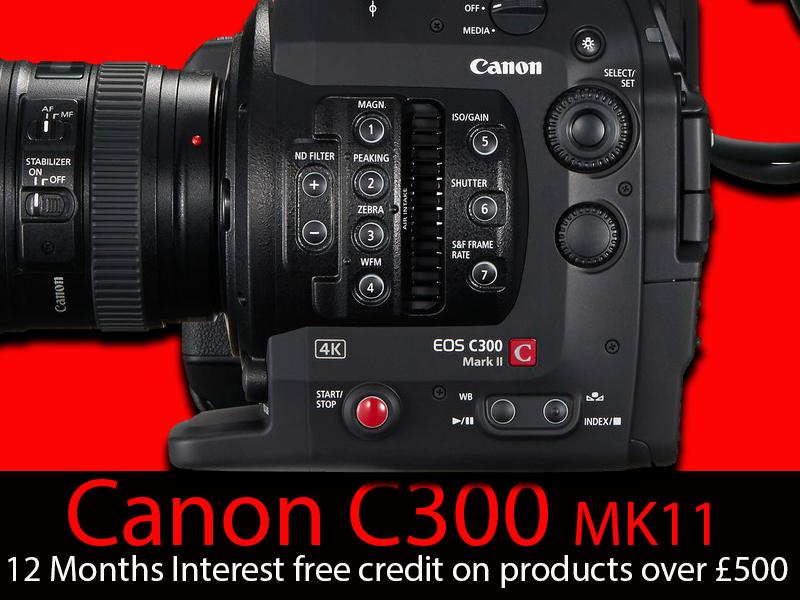 Canon C300 add Prestons v2
