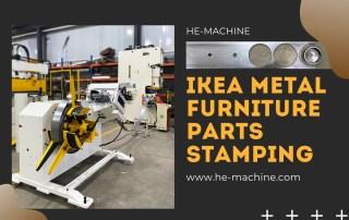 steel furniture parts stamping line