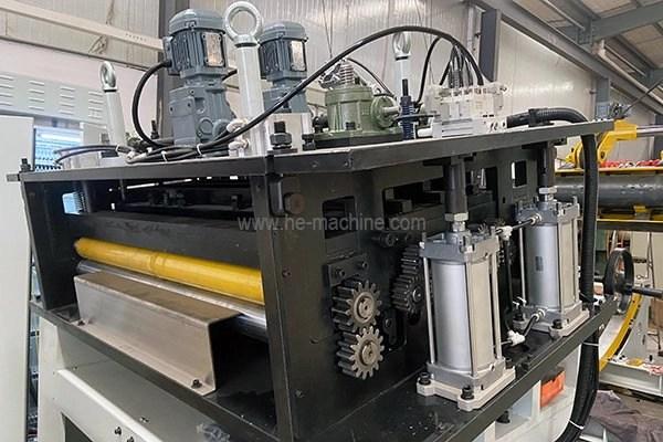 leveling machine strcuture