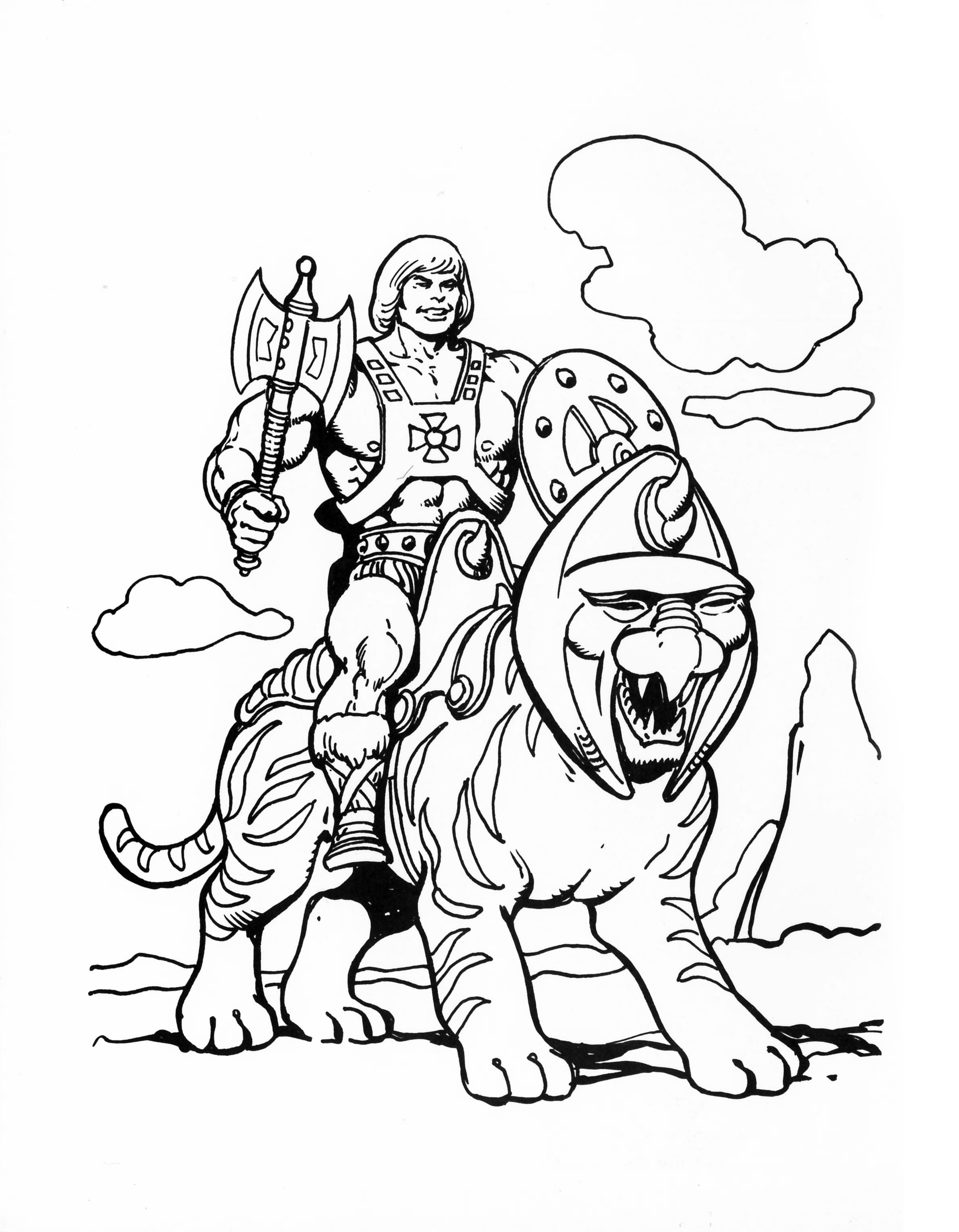 He-Man.org > Publishing > Books > Golden Coloring