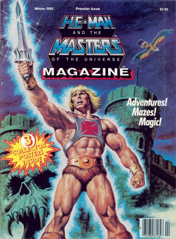 HeManorg  Publishing  Magazines  US  Masters of the Universe 19851988  Winter 1985
