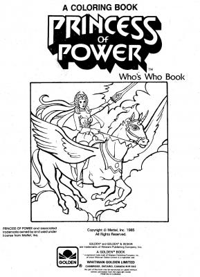 He-Man.org > Publishing > Books > Golden Coloring
