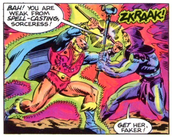 Image result for skeletor vs randor