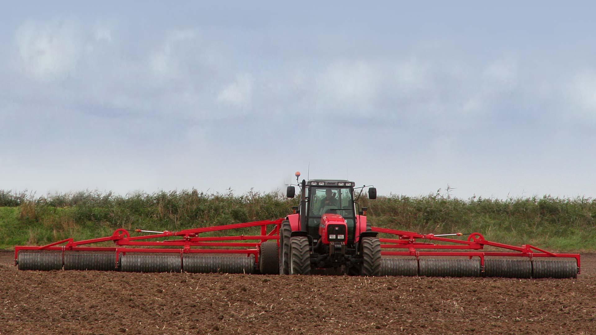 hight resolution of king roller traktor forfra png