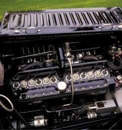 1916 packard twin six town car v12 engine [ 2048 x 1339 Pixel ]