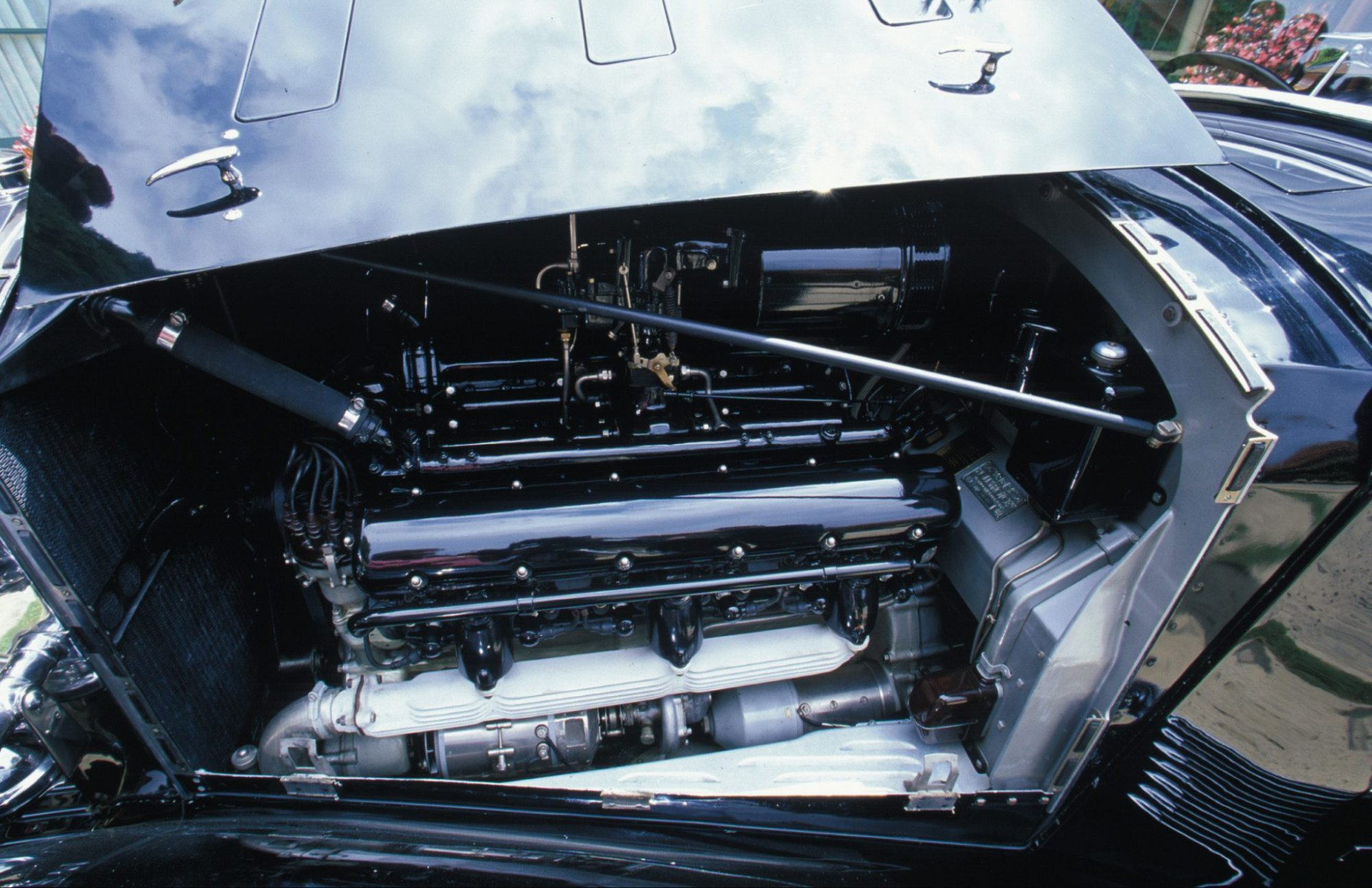 hight resolution of 1937 rolls royce brewster bodied sedanca de ville v12 engine