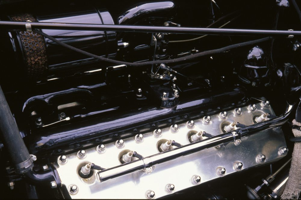 medium resolution of 1938 lincoln model k touring coupe v12 engine