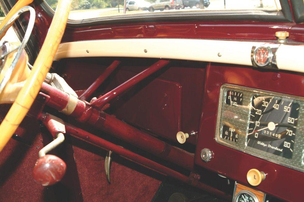 medium resolution of 1949 willys overland jeepster interior