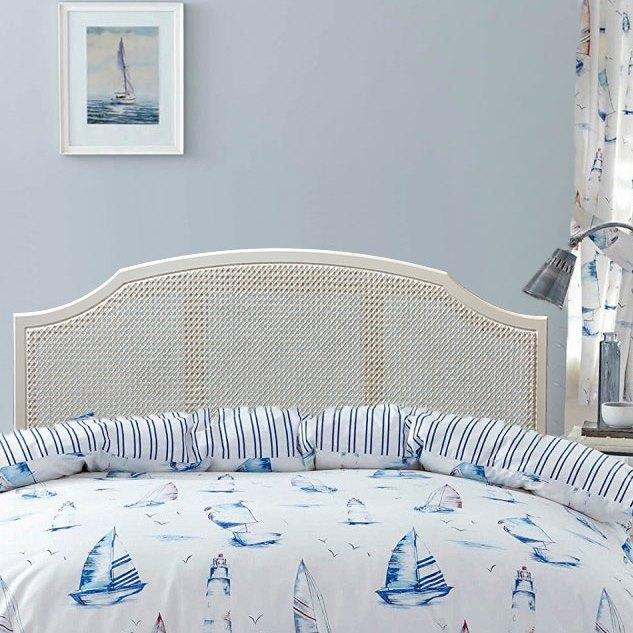 whitstable wicker bed headboard