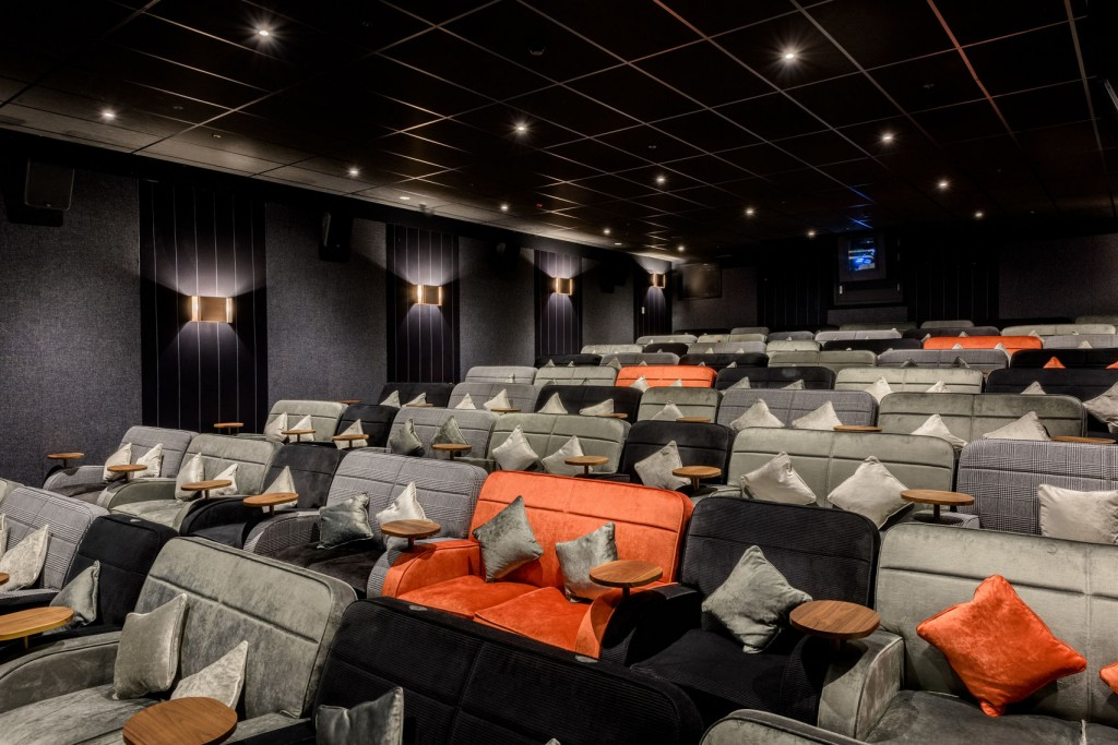 orange sofa uk extra wide slipcover the best screening rooms london has to offer from headbox