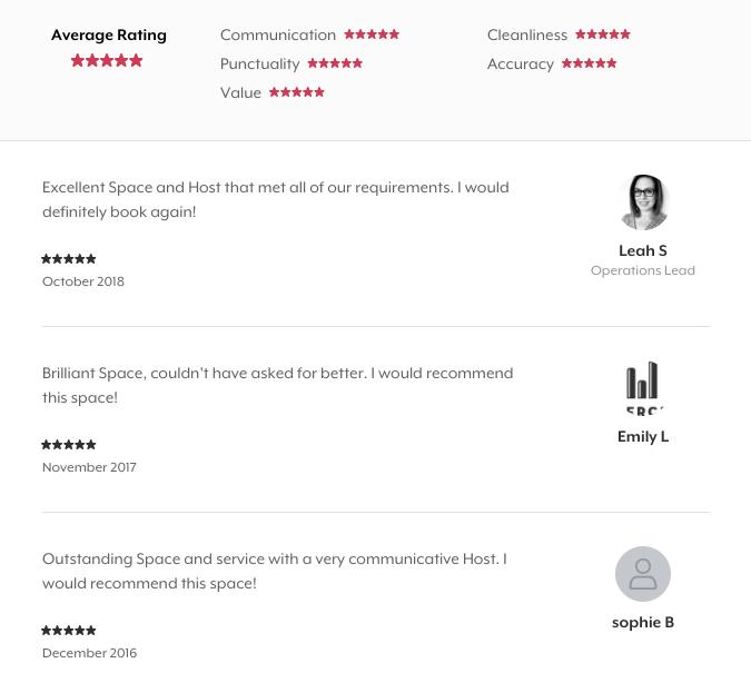 Reviews on HeadBox for venue marketing