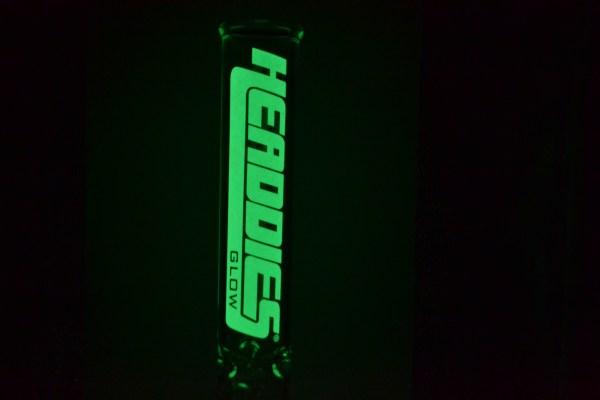 Headdies Glow Label Logo (Close-up)