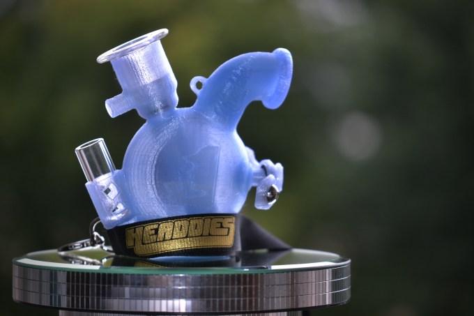 Headdies 3d printed dubbler pipe micro bubbler