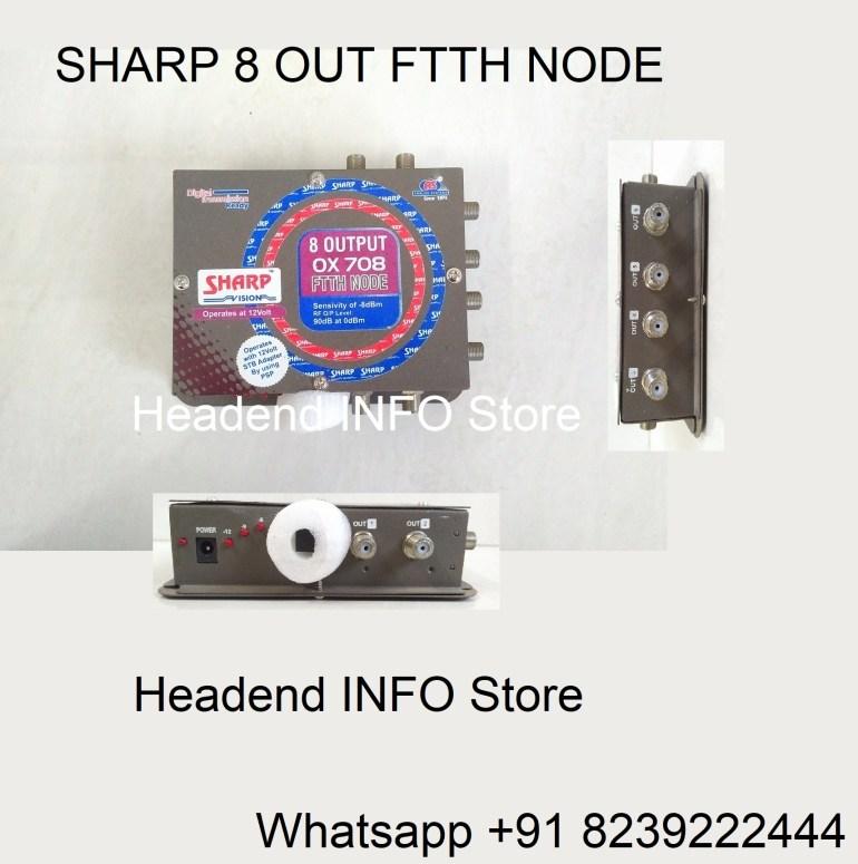 sharp 8 out node ftth node buy