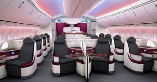 Qatar 787 business class seat
