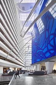 Conrad New York lobby review