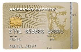Amex Gold credit card
