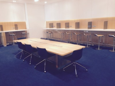Lufhansa lounge Heathrow Terminal 2 meeting room