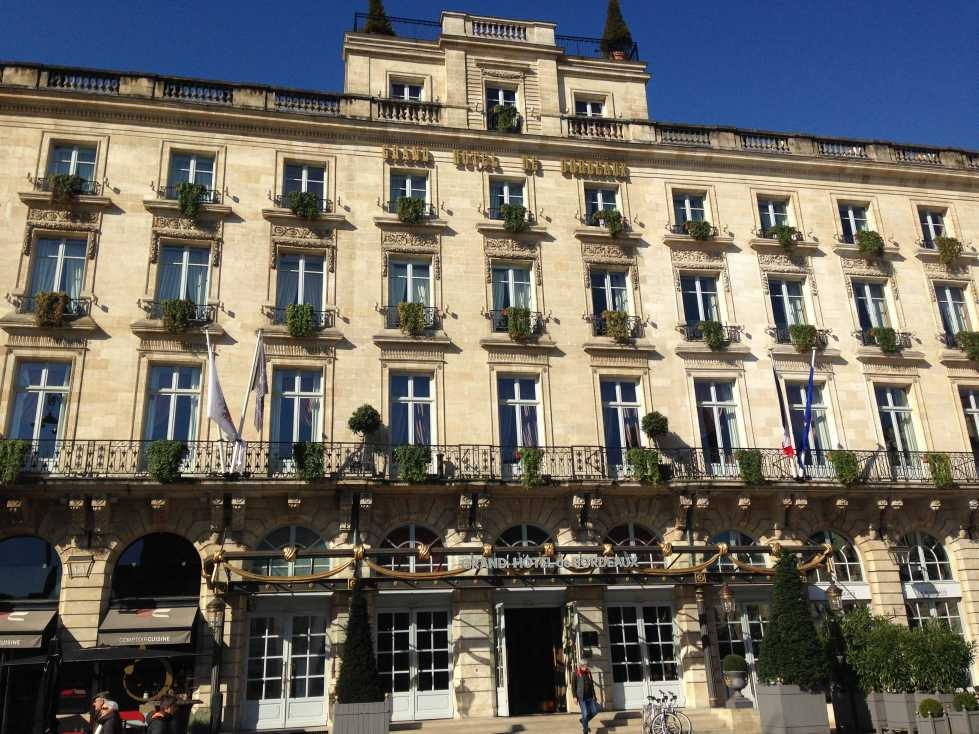 My review of the ic bordeaux le grand hotel for Hotels bordeaux