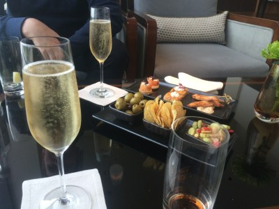 InterContinental London Park Lounge lounge canapes