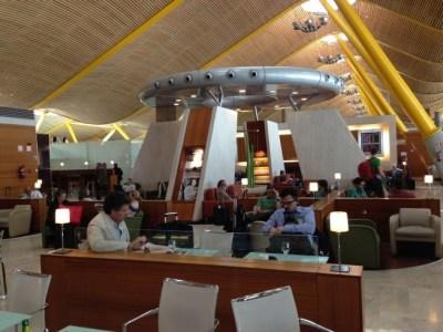 Iberia Dali VIP lounge in Madrid