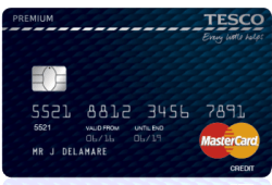 Tesco Premium MasterCard credit card review