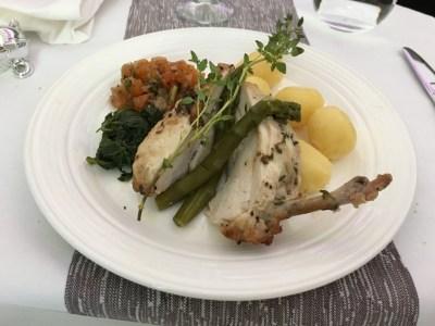 Review Virgin Atlantic Upper Class Boeing 787 food