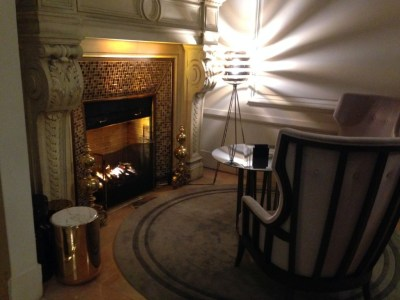 hilton-paris-opera-fireplace review