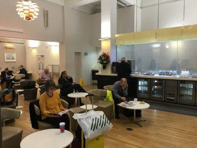Great Western First Class lounge Paddington Station London
