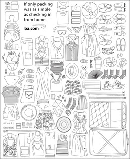 British Airways launches a colouring book!