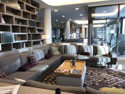 frankfurt element westin airport hotel lobby sofa
