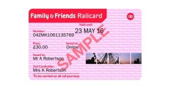 Railcard Rail Card discount code
