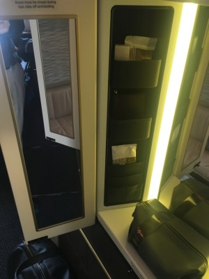 Etihad A380 First Class Apartment review London to Abu Dhabi