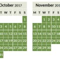…. and here's the Aer Lingus peak and off peak Avios calendar for 2018