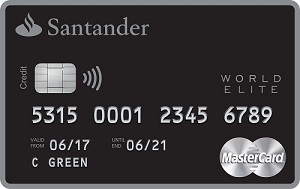Santander Select World Elite Mastercard