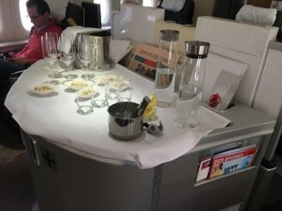 Lufthansa 747-8 First Class review - seat 5