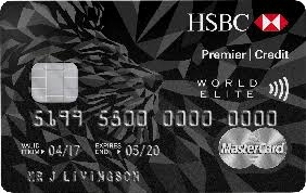 HSBC Premier World Elite Mastercard credit card review