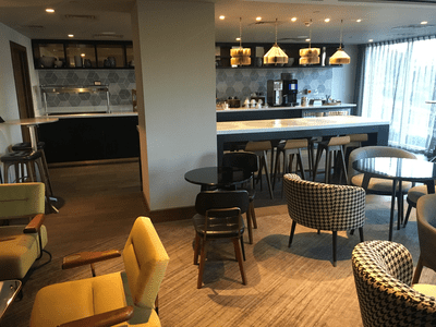Hilton Bournemouth executive lounge review