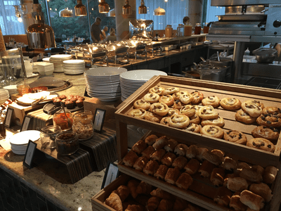 Hilton Bournemouth breakfast review