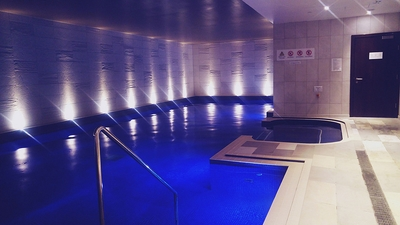 Hilton Bournemouth spa pool review
