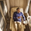 See the amazing new Emirates First Class Suite ….. which you are very unlikely to fly