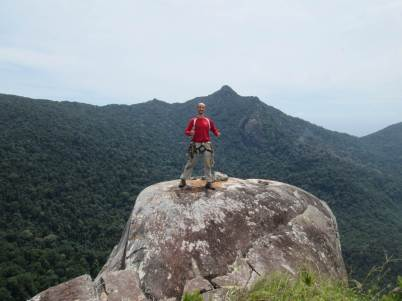 David Acott Summit of Waking Dream, Dragon horns Tioman