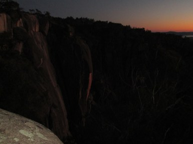 Time to sleep at the hut, Mt Buffalo, The gorges