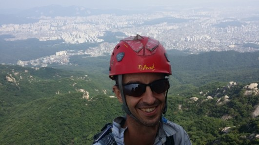 David Acott on Chouinard A Rock Climbing South Korea