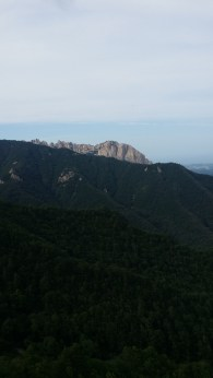 Ulsan Bawi view from the top of Janggun Bong Rock Climbing South Korea Seoraksan