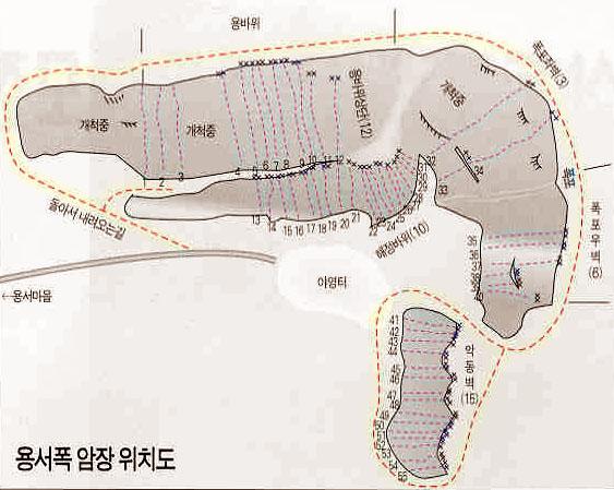Yongseo Pokpo Topo Route Description South Korea