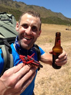 Beer after a paragliding day