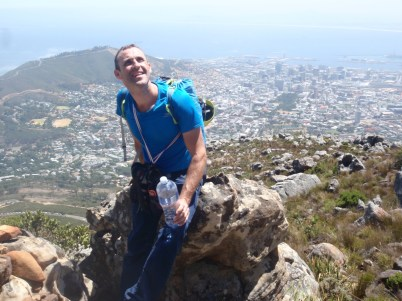 Stephane Coupleux - Table Mountain trek