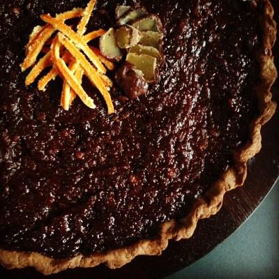 Crostata con Marmellata Cioccoarancia e Frolla di Miglio e Kamut